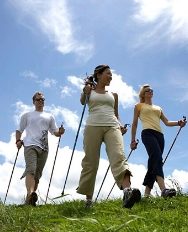 Nordic Walking a Trekking