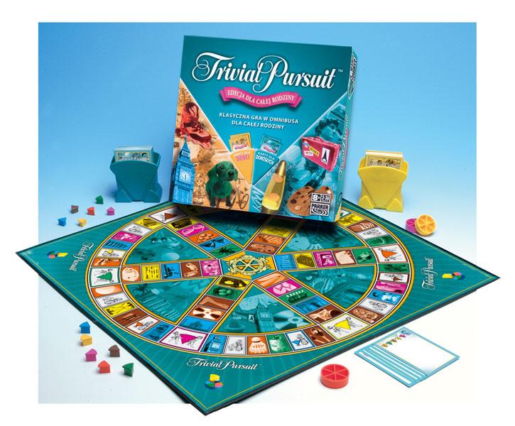 176e79eceb Hasbro Parker Games Gra planszowa Trivial Pursuit - edycja rodzinna ...